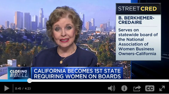 CNBC News Interview of Betsy and Women on Corporate Boards
